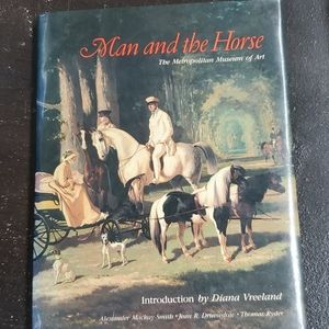 Man and the Horse hardcover book